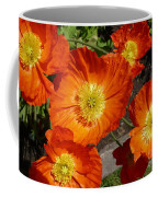 Cheerful Orange Flowers  Coffee Mug