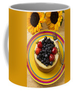 Cheesecake With Fruit Coffee Mug
