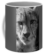 Cheetah Black And White Coffee Mug