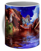 Cheetah Lake Coffee Mug