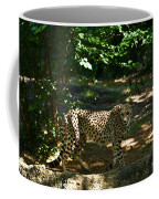 Cheetah On The In The Forest 2 Coffee Mug