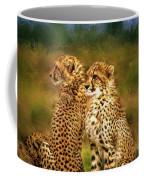 Cheetah Siblings Coffee Mug