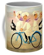 Chefs On A Bike Coffee Mug