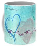 Chemical Thermodynamic Equation For Love Coffee Mug