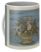 Chenille Embroidery Coffee Mug
