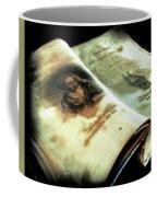 Cherished Old Book Coffee Mug
