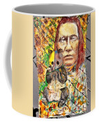 Cherokee Chief With Friend Mr.p Coffee Mug