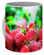 Cherries And Berries Coffee Mug