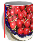 Cherries In A Bowl Close-up Coffee Mug