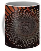 Cherry Basket Weaving Abstract Coffee Mug