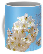 Cherry Blossom And A Bee Coffee Mug