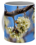 Pear Blossom And Bee Coffee Mug