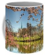 Cherry Blossom Branch Brook Park, Newark, Nj  Coffee Mug