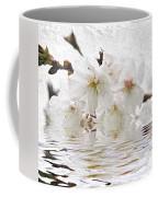 Cherry Blossom In Water Coffee Mug