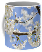 Cherry Blossoms And Bumblebee Coffee Mug
