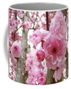 Cherry Blossoms Art Prints 12 Cherry Tree Blossoms Artwork Nature Art Spring Coffee Mug