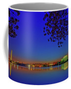 Cherry Blossoms Sunrise Coffee Mug