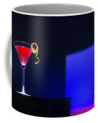 Cherry Martini Cocktail Drink At Night In Modern Bar Coffee Mug