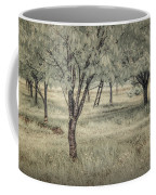 Cherry Orchard In Infrared Coffee Mug