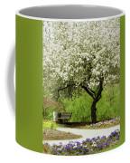 Cherry Tree In Full Bloom Coffee Mug