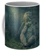 Cherub Lost In Thoughts Coffee Mug