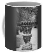 Cherub Planter B W Coffee Mug