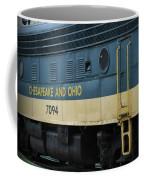 Chesapeake And Ohio Boxcar  Coffee Mug