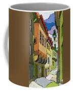 Chesky Krumlov Street Nove Mesto Coffee Mug