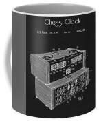 Chess Clock Patent Coffee Mug