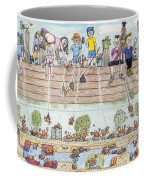 Chest Out Crabbing Coffee Mug
