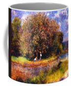 Chestnut Tree Blooming 1881 Coffee Mug