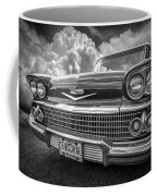 Chevrolet Biscayne 1958 In Black And White Coffee Mug