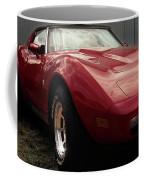 Chevrolet Corvette 1977 Coffee Mug