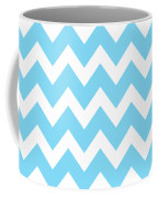 Chevron Pattern - Pick Your Color Coffee Mug by Mark E Tisdale
