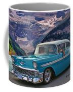Chevy At Lake Louise Coffee Mug