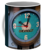 Chevy Neon Clock Coffee Mug