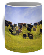 Cheyenne Cattle Roundup Coffee Mug