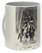 Cheyenne Scouts Patrolling The Big Timber Of The North Canadian, Coffee Mug