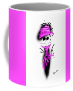 Chic In Pink Silk Couture  Coffee Mug