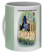 Chicago American Airlines 1950 Coffee Mug