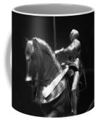 Chicago Art Institute Armored Knight And Horse Bw 01 Coffee Mug