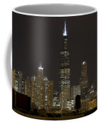 Chicago At Night I Coffee Mug