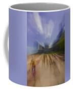 Chicago Beach Zoom Blur Coffee Mug