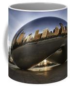 Chicago Cloud Gate At Sunrise Coffee Mug