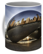 Chicago Cloud Gate At Sunrise Coffee Mug