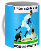 Chicago Cubs 1970 Program Coffee Mug
