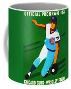 Chicago Cubs 1972 Official Program Coffee Mug