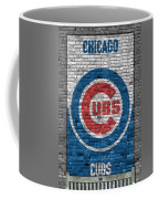 Chicago Cubs Brick Wall Coffee Mug