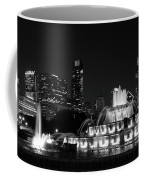 Chicago Grant Park Grayscale Coffee Mug