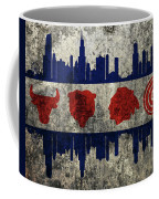 Chicago Grunge Flag Coffee Mug
